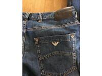 Armani Mens Jeans - 32 Inch Waist x 34 Inch Leg