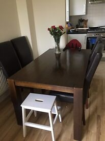 Homebase dinning table 90x150 cm
