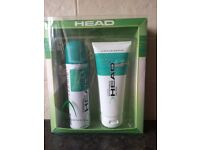 HEAD - GIRL SPORT SHOWER PACK - job lot