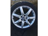 Mercedes c class alloy wheel