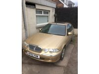 Rover 45 - Extremely low mileage