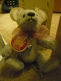 Charlie Bears (Isabelle Lee) MO MOUSE KEYRING / BAG BUDDY 13cm = Retired