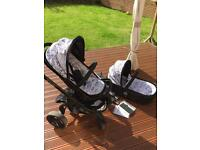 iCandy Limited Edition World pushpram+carrycot+Maxi Cosi+accessories