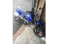 125cc pit bike and extras