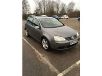 VW Golf MK 5 1.9 TDI Sport 6-speed manual. 55 plate. 90K mileage. One owner from new. Rare example