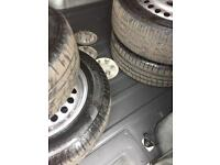 ford transit connect wheels and tyres x4