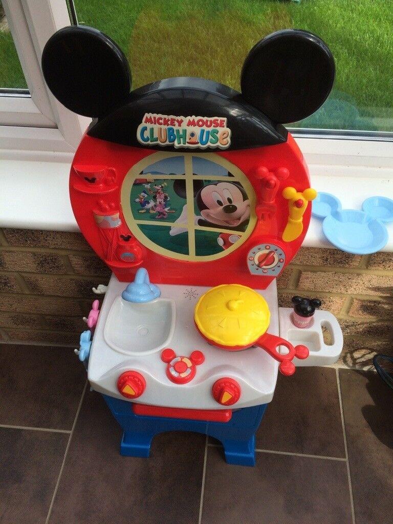 Disney Mickey Mouse play kitchen