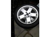 Rover alloy wheels 205 / r50 / 16s with tyres