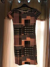 Boohoo ladies patterned dress
