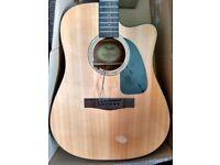 FREE Broken Fender FA-300 CE Acoustic Guitar