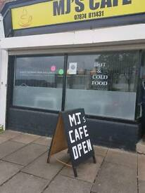 Cafe / unit for let £85 weekly