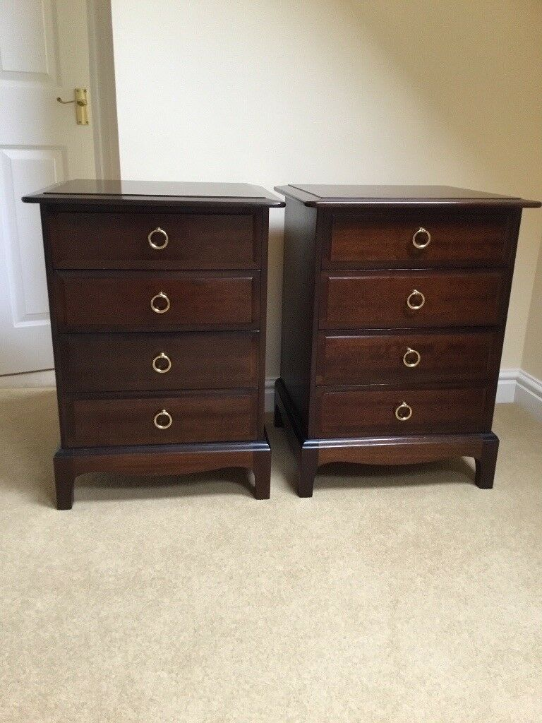 Stag Minstrel Bedside Cabinets In Auckley South