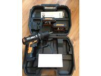 Worx MaxLithium Hammer Drill with 100 Piece Stanley Drill Bit Set