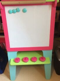 Kids Black and Whiteboard Easel from ELC