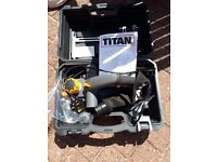 Titan Electric planer 2 years old only .