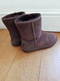 Brown original Ugg Boots