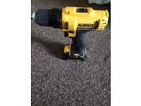 Dewalt dcd710 drill with xr li-ion battery