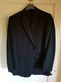 Men's 2 Piece Pinstripe Suit
