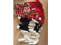 Baby's first Christmas clothes bundle 0-3 months