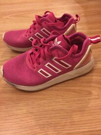 Pink Adidas size 12