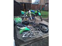 Kawasaki KX job lot ( motorbike, bike)