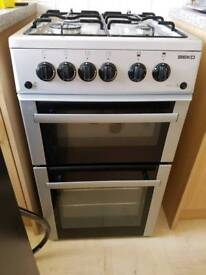 Beko gas double grill oven great condition