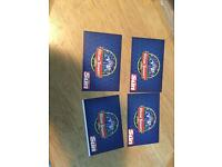 4 x Alton towers tickets 13th July 17
