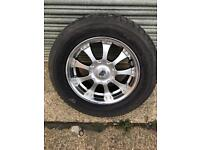 "Mitsubishi 18"" alloy and tyre Pirelli p zero will fit Other models"