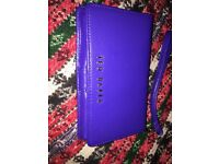 Ted Baker Saffiano leather phone case/wallet with wrist strap
