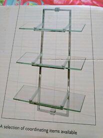 BNIB Next Glass Shelving
