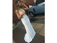 Stunning white and gold prom dress!!!