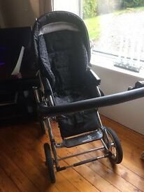 Pram/Pushchair all in one with all accessories.