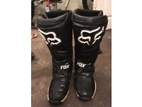 Fox motocross boots comp 8