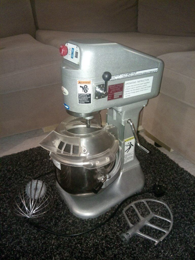 Metcalfe SP-80 7.5ltr Planetary Mixer Professional Catering