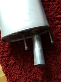 Exhaust for ford escort