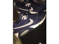 Nike air max size 11 navy blue