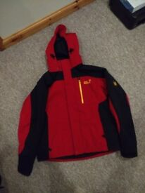 Jack Wolfskin Red skiing Coat