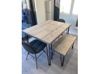 Brand New Dining Table & Bench
