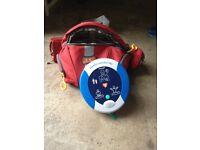 Defribilator with CPR advisor