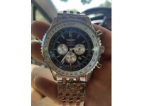 Breitling Navitimer Stainless Steel Chronograph Watch - ask for video
