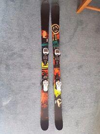 K2 shreditor 149cm junior twin tip skis
