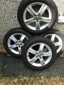 Genuine VW/AUDI 16 inch alloys. PCD 5X112.