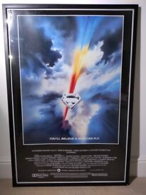 Framed Cinema Pictures Superman and Jaws
