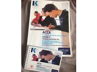ACCA F7 Financial Reporting Exam Kit and Pocket Notes