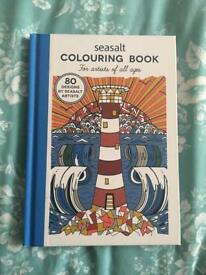 BRAND NEW SEASALT CORNWALL COLOURING BOOK