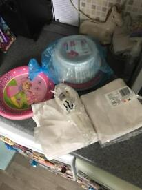 FREE paper plates bowls napkins cutlery