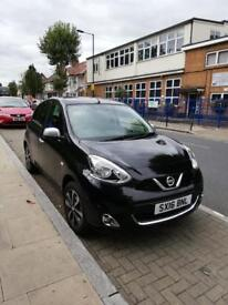 Nissan micra 1.2 petrol black 2016 low mileage only 5000