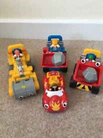 Wow Trucks - Luke, Frankie, Toby and Riley