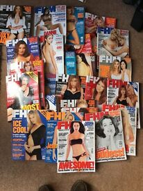 Fhm magazines 1997-1999