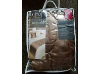 Bed runners and matching cushion covers- REDUCED PRICE